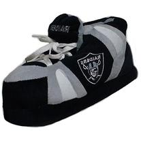 Comfy Feet NFL Sneaker Boot Slippers - Oakland Raiders
