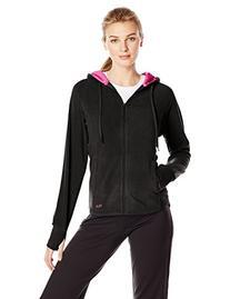Fila Comfy Fleece Hoodie L, Black/Pink