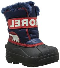 Sorel Commander NOCT S Cold Weather Boot , Nocturnal/Sail