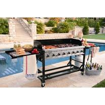 Commercial Grade Large BBQ Grill for Events 8 burners 1ST