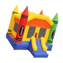 Inflatable HQ Commercial Grade Crayon Bounce House 100% PVC