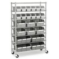 Commercial 56 H Seven Shelf Storage Rack