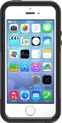 OtterBox COMMUTER SERIES Case for iPhone 5/5s/SE  - BLACK