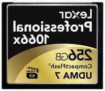 Lexar Professional 1066x 256GB VPG-65 CompactFlash card  w/