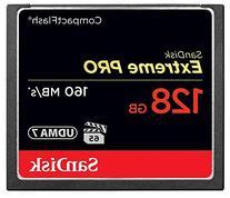 SanDisk Extreme PRO 128GB CompactFlash Memory Card UDMA 7