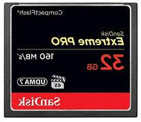 SanDisk Extreme PRO 32GB CompactFlash Memory Card UDMA 7