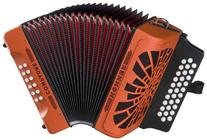 Hohner Compadre GCF Accordion, Orange