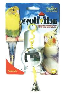 JW Pet Company Activitoy Disco Ball Small Bird Toy, Colors