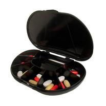 Travel Size 8 Compartment Pill Box Holds up to 150 Pills