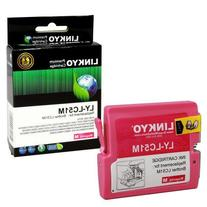 LINKYO Compatible Brother LC51M Magenta Ink Cartridge