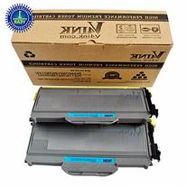 V4INK 2PK New Compatible With Brother TN360 TN330 Black