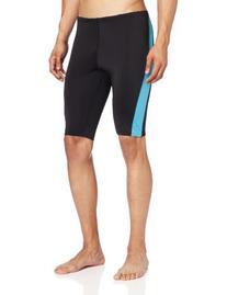 Kanu Surf Men's Competition Jammers Swim Suit, Black, 36