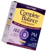 Natrol Complete Balance For Menopause Am- Pm