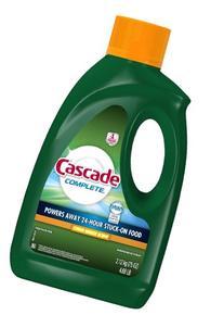 Cascade Complete Gel All-in-1 Dishwasher Detergent - 75 oz