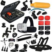 Xtech Complete Accessories Kit for GoPro HERO4 Session,
