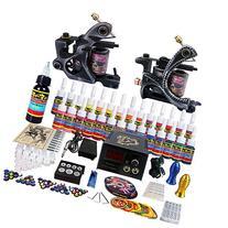 Solong Tattoo® Complete Tattoo Kit 2 Pro Machine Guns 28