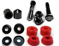 Complete Set of Replacement Skateboard Kingpins, Bushings,