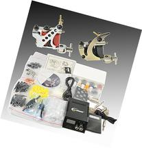 Complete Tattoo Kit 2 Tattoo Machine Kit With Power Supply