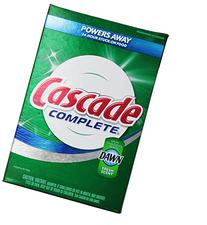 Cascade Complete, Powder Dishwasher Detergent, Fresh Scent