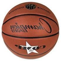 "** Composite Basketball, Official Junior, 27.75"", Brown"