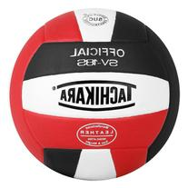 Tachikara Composite Leather Volleyball Red White Black