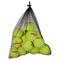 Tourna Low Compression Green Dot Tennis Ball with Mesh Bag