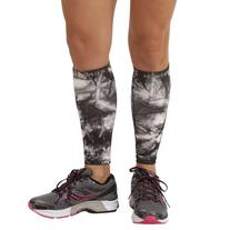 Zensah Compression Leg Sleeves, Tie Dye Titanium, Small/