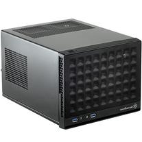 Silverstone Computer Case with Mesh Front Panel,Black