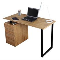 Techni Mobili RTA 1305 PN Modern Computer Desk With Storage