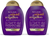 OGX Conditioner, Thick & Full Biotin & Collagen, 13 oz