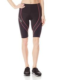 CW-X Conditioning Wear Women's Pro Shorts, Small, Black/Soft