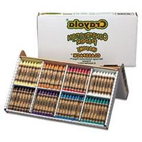 -- Construction Paper Crayons, Classpack, Wax, 20 Sets of 8