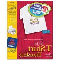 Avery Consumer Products : Iron-On T-Shirt Transfers, 6
