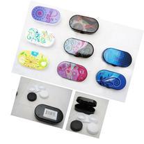 Contact Lenses Case Kit Cute Travel Eye Care Mini Set Mirror