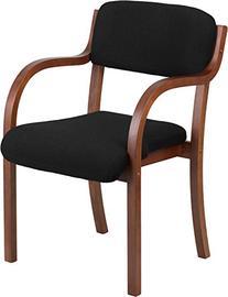 Wood Side Guest Chair, Walnut