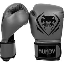 Venum Contender Boxing Gloves, Grey, 14 oz