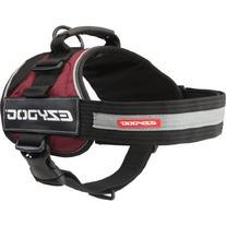 EzyDog Convert Trail-Ready Dog Harness, XX-Large, Burgundy