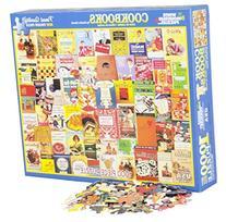 White Mountain Puzzles Cookbooks Collage - 1000 Piece Jigsaw