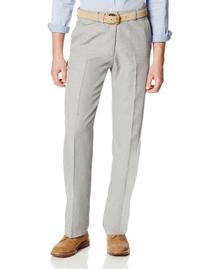 Haggar Men's Cool 18 Expandable Waist Classic Fit Pant,