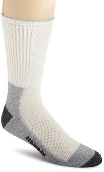 Wigwam Men's Cool-Lite Hiker Pro Crew Socks,Large,Moss