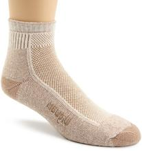 Wigwam Men's Cool-Lite Hiker Pro Quarter Socks, Khaki, X-