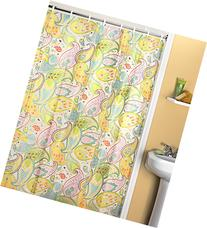 Creative Bath Products Cool Paisley Shower Curtain