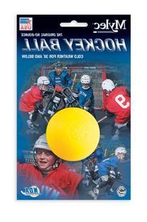 Mylec Cool Weather Hockey Balls,  Yellow