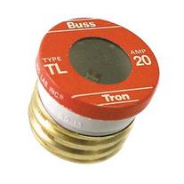 Bussmann - Cooper 4 Count 20 Amp Time Delay Plug Fuses TL-