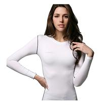 COOVY ATHLETE Women's Compression Base Layer Long-Sleeve Top