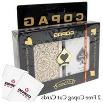 Copag Poker Size Regular Index - 1546 Black*Gold Setup