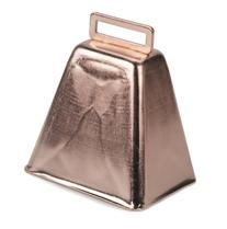 "3"" COPPER COWBELL"
