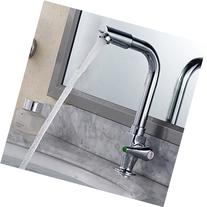 All copper single cold faucet kitchen faucet can be rotated/