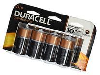 Duracell CopperTop D Batteries - 8-pk