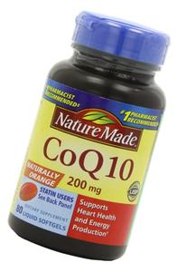 Nature Made Coq10 200 Mg, Naturally Orange,Value Size, 80-